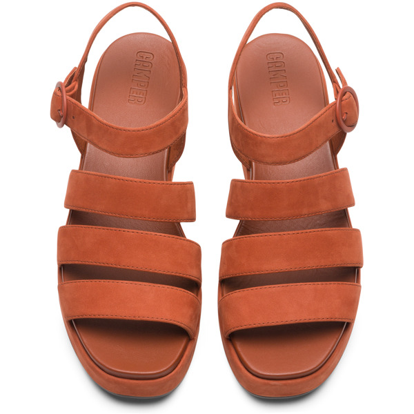 Camper Misia Brown Sandals Women K200796-005