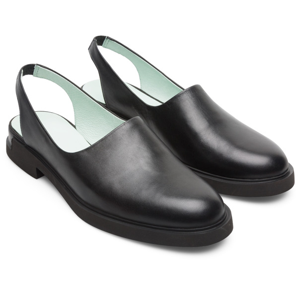Camper Iman Black Formal Shoes Women K200818-002