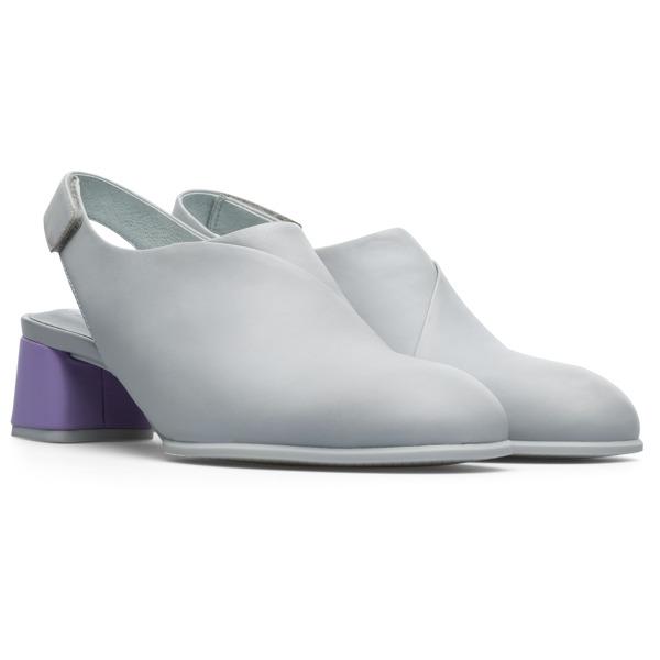 Camper Twins Grey Casual Shoes Women K200833-004