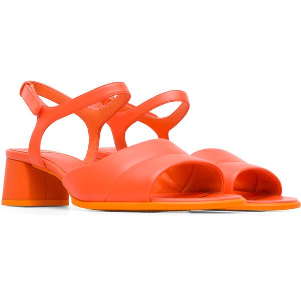 Camper Katie Orange Sandals Women K200834-001