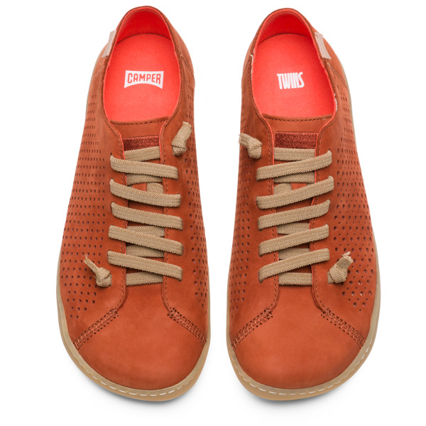 Camper Twins Brown Casual Shoes Women K200841-002