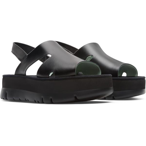 Camper Oruga Black Sandals Women K200848-001
