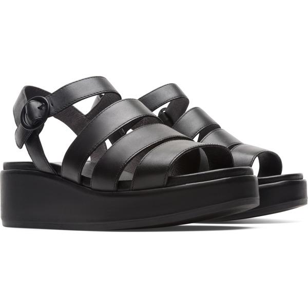 Camper Misia Black Sandals Women K200864-001