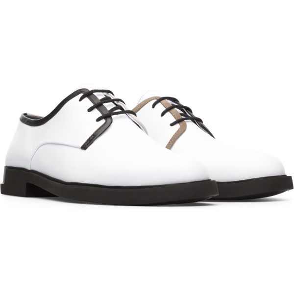 Camper Twins White Formal Shoes Women K200899-003