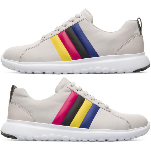 Camper Twins Beige Sneakers Women K200903-005