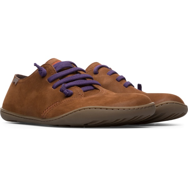 Camper Peu Brown Casual Shoes Women K200927-004