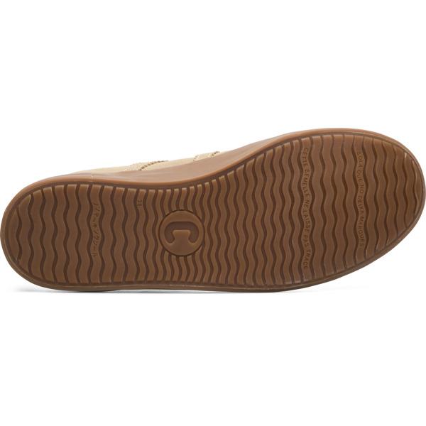 Camper Imar Beige Flat Shoes Women K200929-014