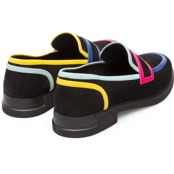 Camper Twins Black Flat Shoes Women K200940-001