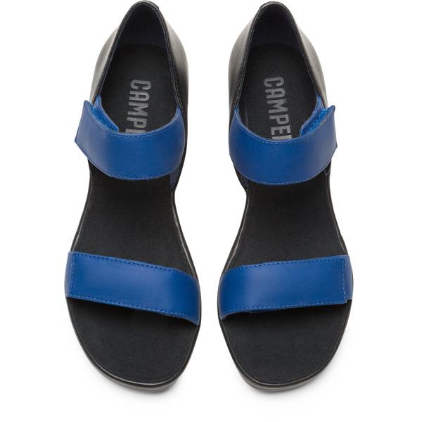 Camper Upright Blue Sandals Women K200953-001