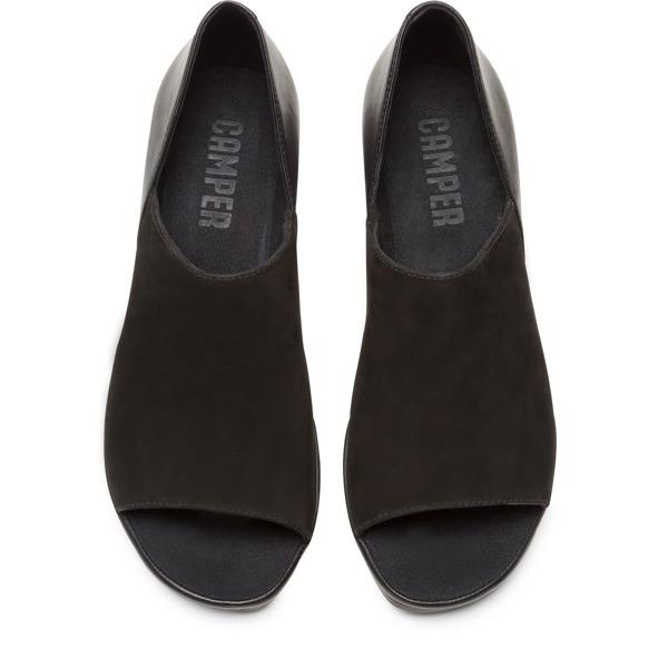 Camper Upright Black Sandals Women K200955-001