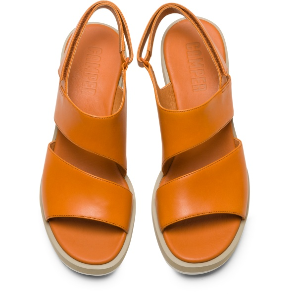 Camper Kyra Orange Sandals Women K200965-003