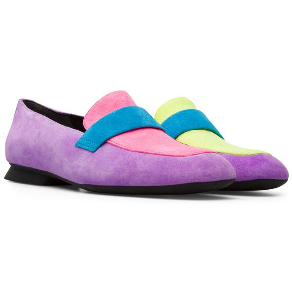 Camper Twins Multicolor Flat Shoes Women K200991-001