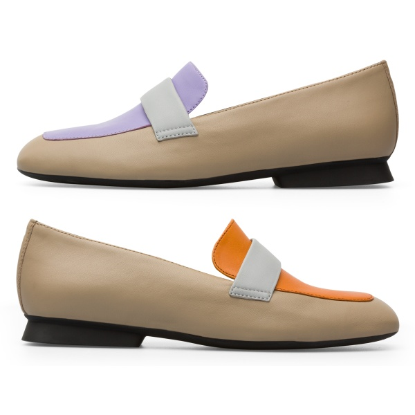 Camper Twins Multicolor Flat Shoes Women K200991-002