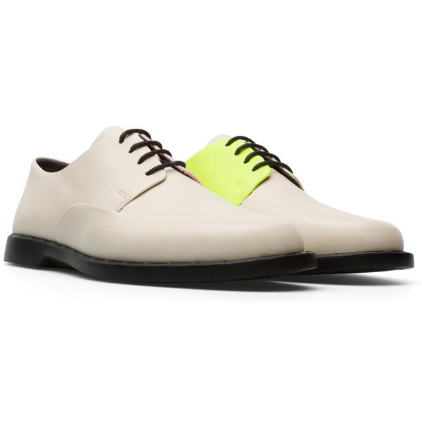 Camper Twins Beige Formal Shoes Women K201003-002