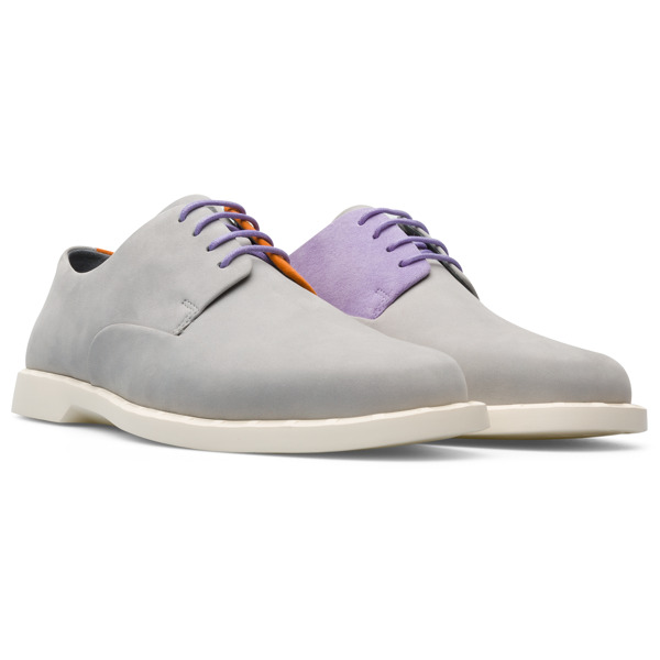 Camper Twins Grey Formal Shoes Women K201003-003