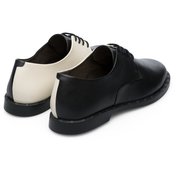 Camper Twins Black Formal Shoes Women K201003-004