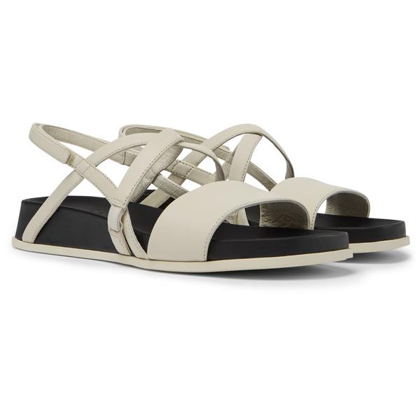 Camper Atonik Beige Sandals Women K201009-004