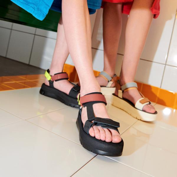 Camper Oruga Multicolor Sandals Women K201037-003