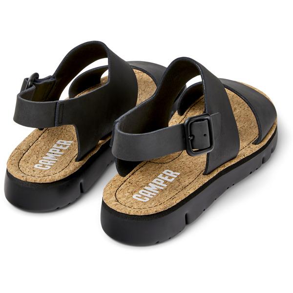 Camper Oruga Black Sandals Women K201038-001