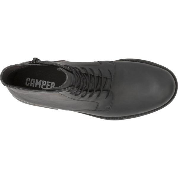 Camper Mil Black Ankle Boots Men K300003-001