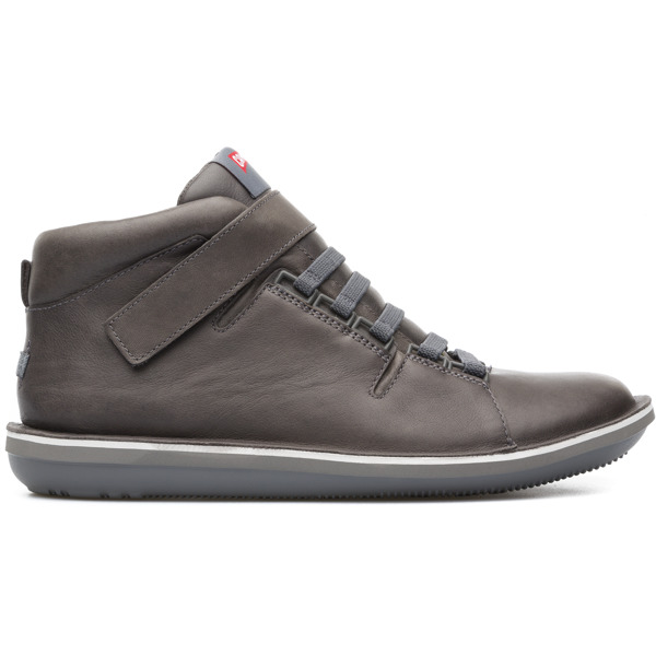 Camper Beetle Grey Ankle Boots Men K300004-005