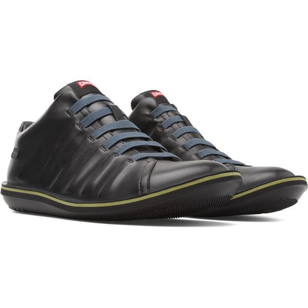 Camper Beetle Black Ankle Boots Men K300005-009
