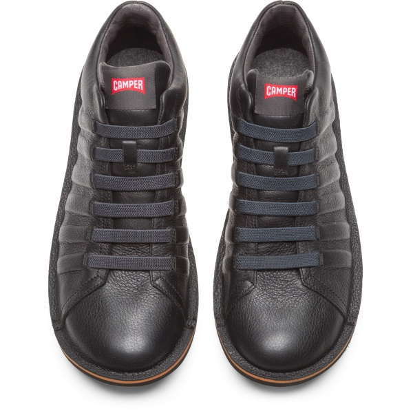 Camper Beetle Black Ankle Boots Men K300005-011