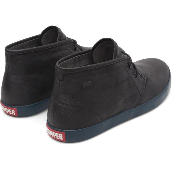 Camper Pursuit Black Ankle Boots Men K300017-006
