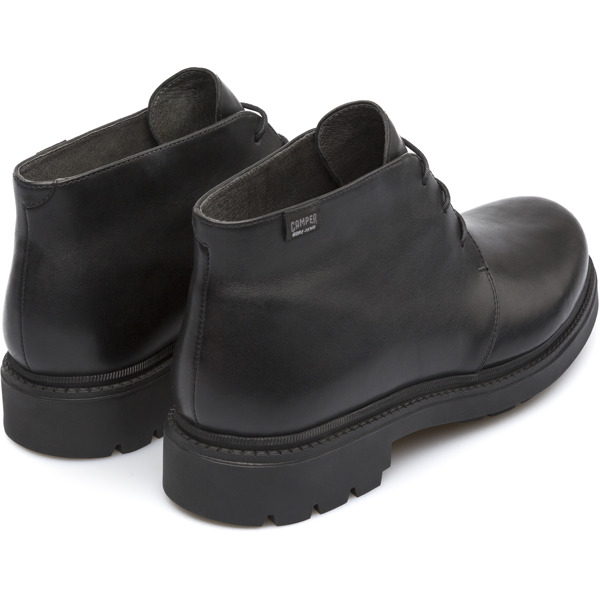 Camper Hardwood Black Ankle Boots Men K300027-002