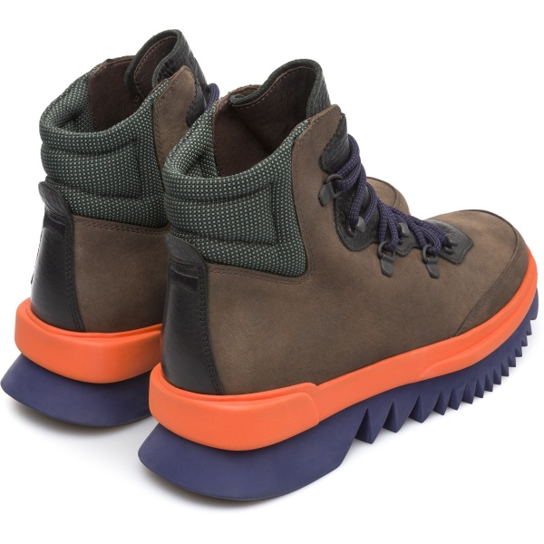 Camper Rex Brown Ankle Boots Men K300096-002