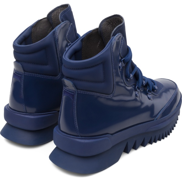 Camper Rex Blue Ankle Boots Men K300096-006