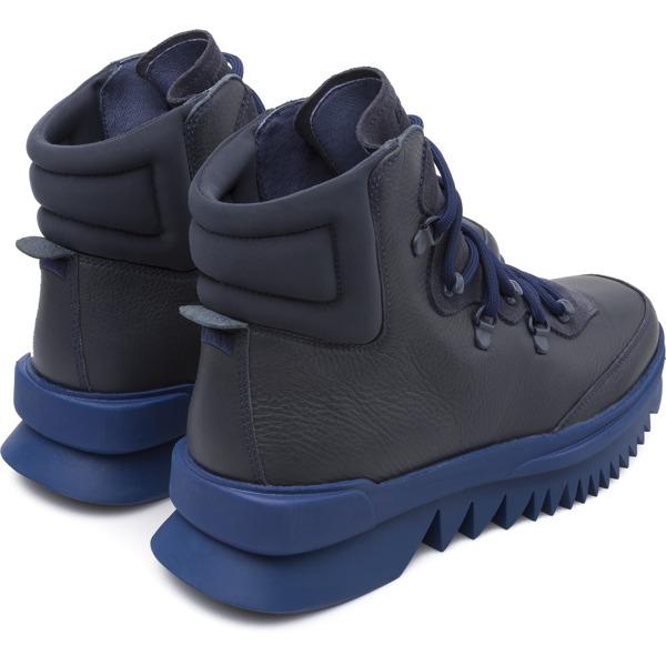 Camper Rex Blue Ankle Boots Men K300096-009