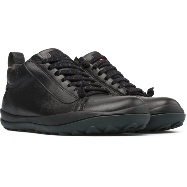 001 Hombre Camper Calzado Peu Pista Negro K300123 Zapato