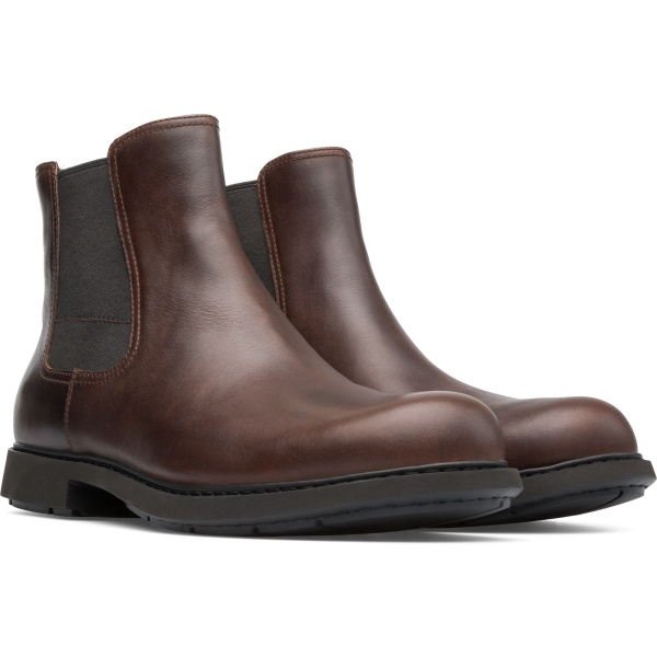 Camper Neuman Brown Ankle Boots Men K300170-007