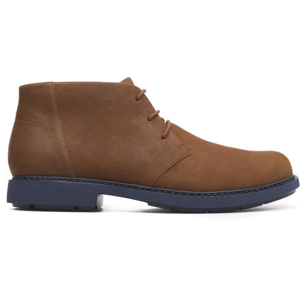 Camper Neuman Brown Ankle Boots Men K300171-001
