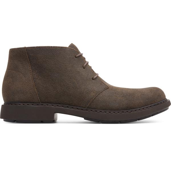Camper Neuman Brown Gray Ankle Boots Men K300171-011