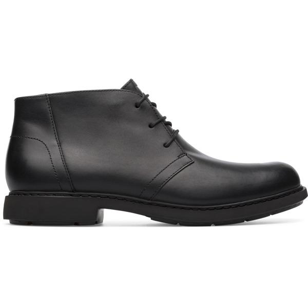 Camper Neuman Black Ankle Boots Men K300171-014