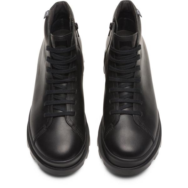 Camper Brutus Black Ankle Boots Men K300177-001