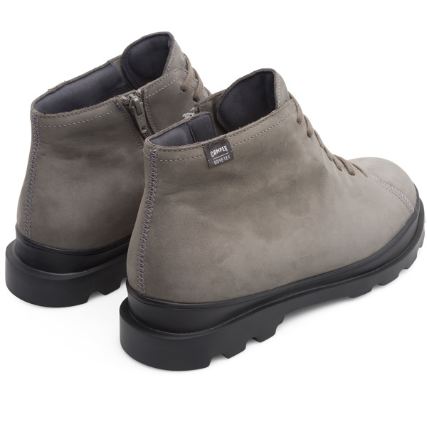 Camper Brutus Grey Ankle Boots Men K300177-005