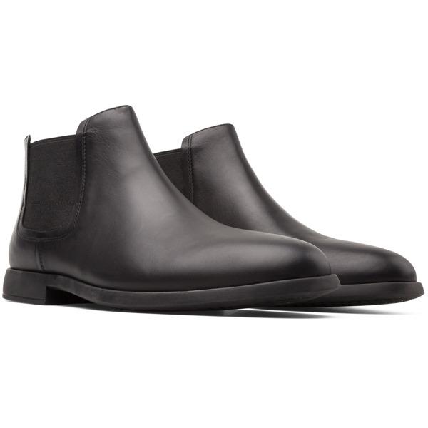 Camper Truman Black Formal Shoes Men K300188-001