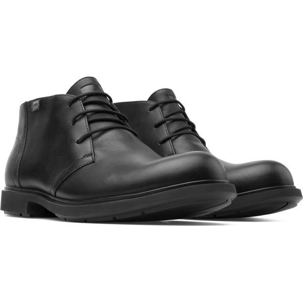 Camper Neuman Black Ankle Boots Men K300189-002