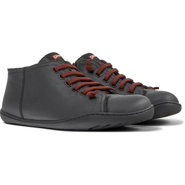 Camper Peu Black Ankle Boots Men K300192-005