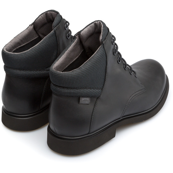 Camper Neuman Black Ankle Boots Men K300199-001