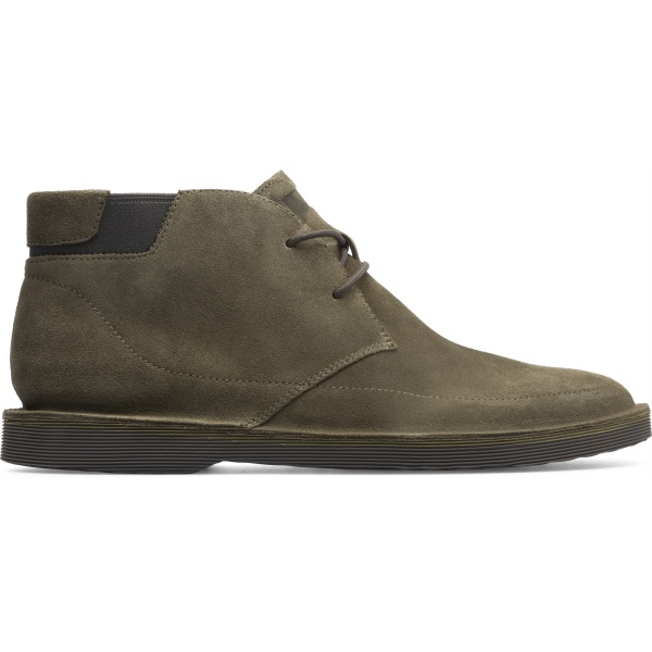 Camper Morrys Green Ankle Boots Men K300202-004
