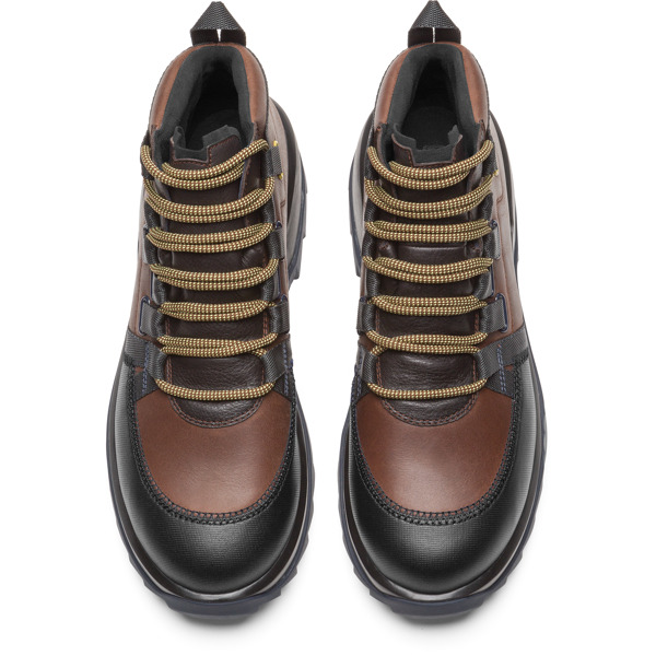 Camper Helix Brown Sneakers Men K300218-003