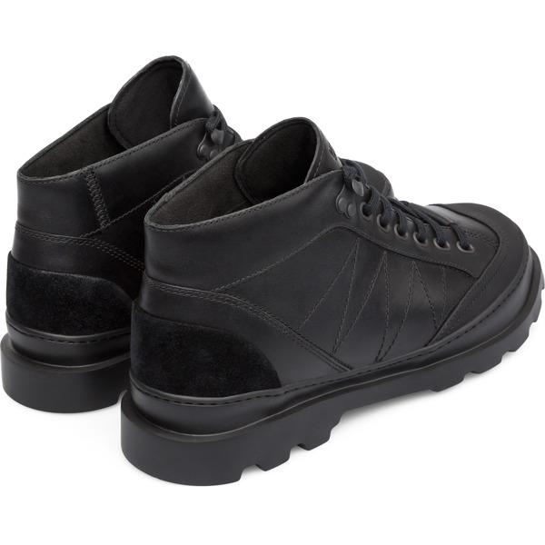 Camper Brutus Black Ankle Boots Men K300220-005