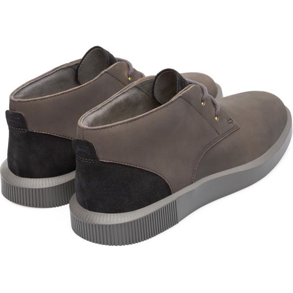 Camper Bill Grey Ankle Boots Men K300235-002