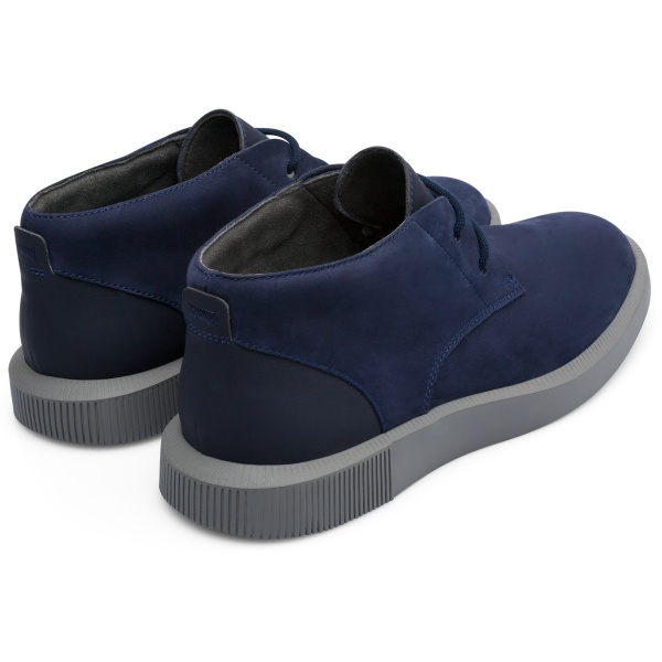 Camper Bill Blue Ankle Boots Men K300235-005