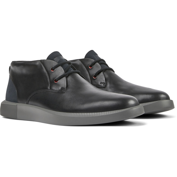 Camper Bill Black Formal Shoes Men K300235-007