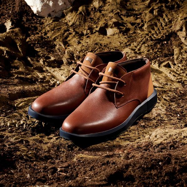 Camper Bill Brown Formal Shoes Men K300235-008